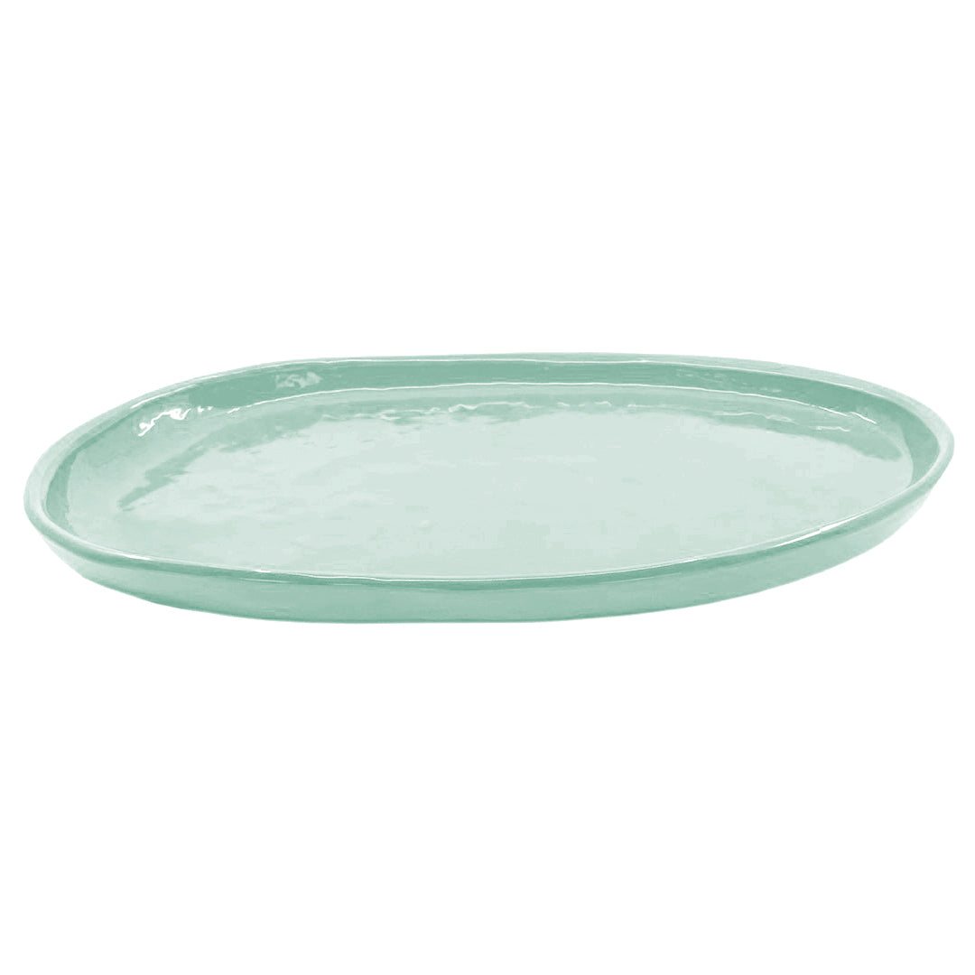 SMALL OVAL PLATTER GHOST GUM