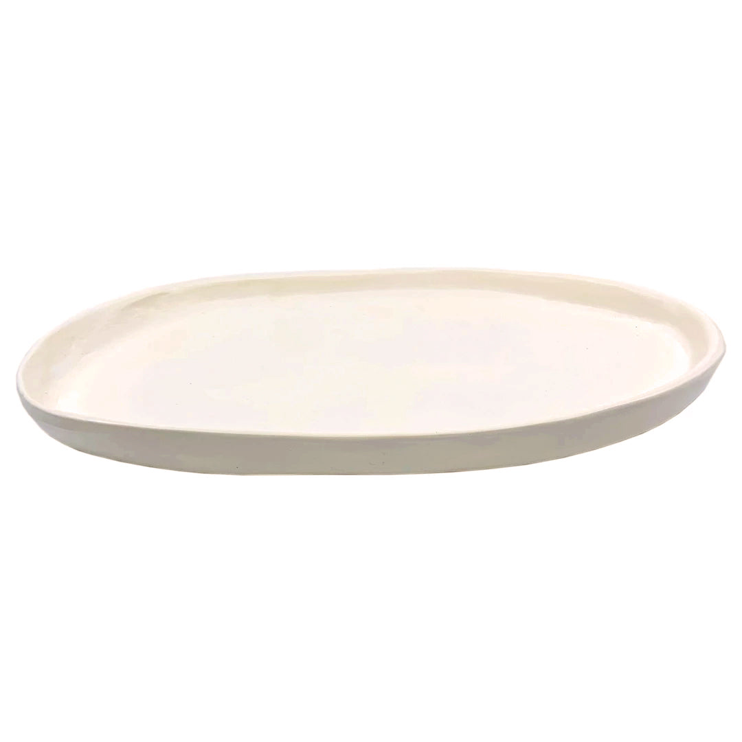 SMALL OVAL PLATTER PEARL