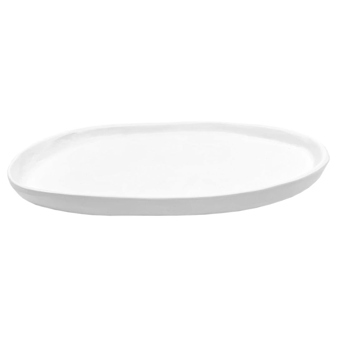 SMALL OVAL PLATTER SATIN