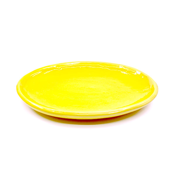 TAPAS PLATE YELLOW