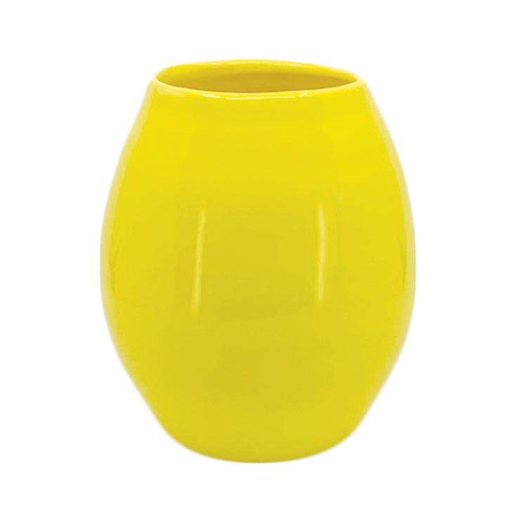 TEARDROP VASE YELLOW