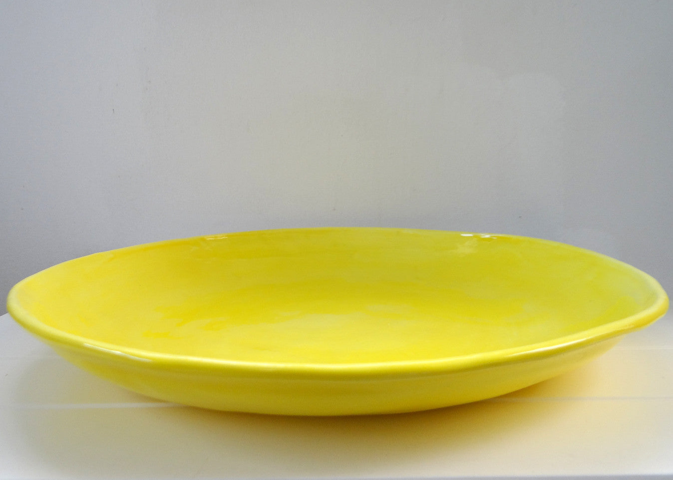 WELCOME PLATTER YELLOW
