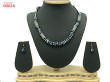 Load image into Gallery viewer, Blue Crystals Western Necklace