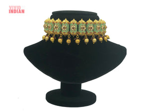 Mysore Royal Statement Choker Necklace Set