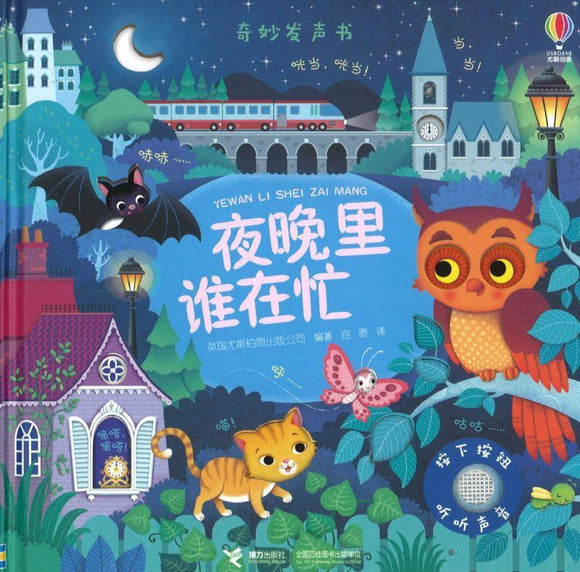 9787544857789 夜晚里谁在忙 Night sounds | Singapore Chinese Books