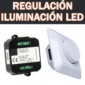 Regulación LED dimmers