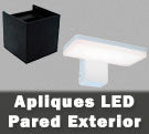 Apliques de pared LED integrado