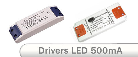 Drivers LED 500mA corriente constante