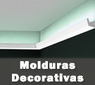 Moldura decorativas para tiras de LED