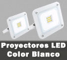 Proyectores LED de color blanco design para exterior