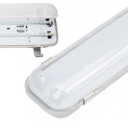 Pantalla Estanca LED Integrado 16W 60cm Luz Blanca