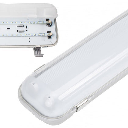 Pantalla Estanca LED Integrado 32W 120cm Luz Blanca
