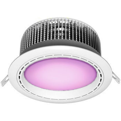 Downlight LED Redondo Blanco 50W Luz Morada