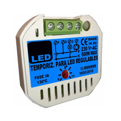 Temporizador Seguridad LED Regulables 500W
