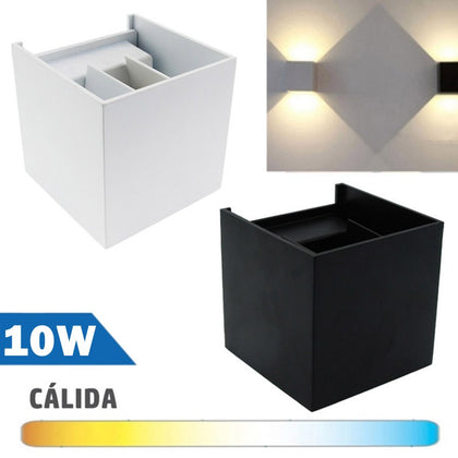 Aplique LED 10W COB Ajustable Alta Potencia