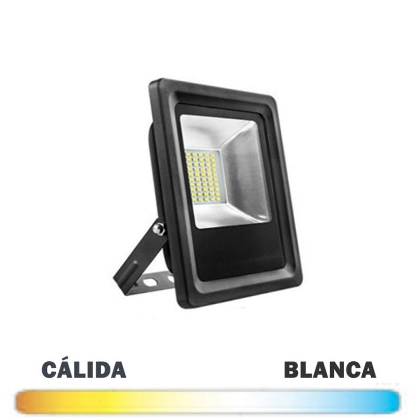 Proyector Exterior LED Negro 10W