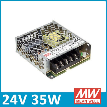 Fuente Alimentación LED LRS Meanwell 24V 35W
