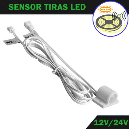 Sensor Superficie DC12V / 24V 2A Tiras LED