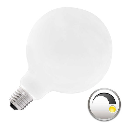 Bombilla LED E27 Globo G95mm Full Cristal 8W Regulable