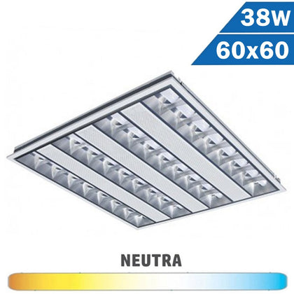 Panel LED 38W 595x595mm Baja Luminiscencia