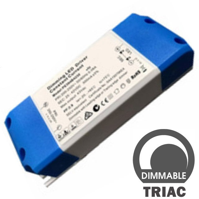 Driver LED Dimmable TRIAC 460-650mA 20 - 27W