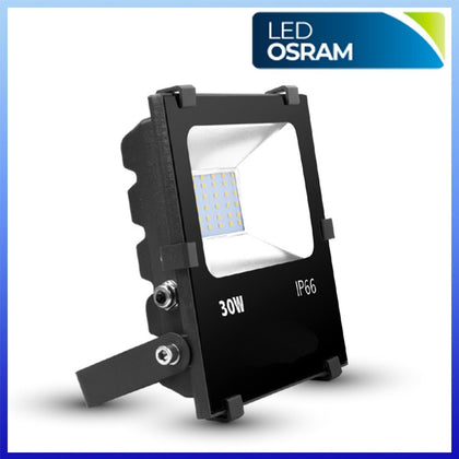 Proyector LED 30W CHIP Osram Negro