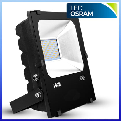 Proyector LED 100W CHIP Osram Negro