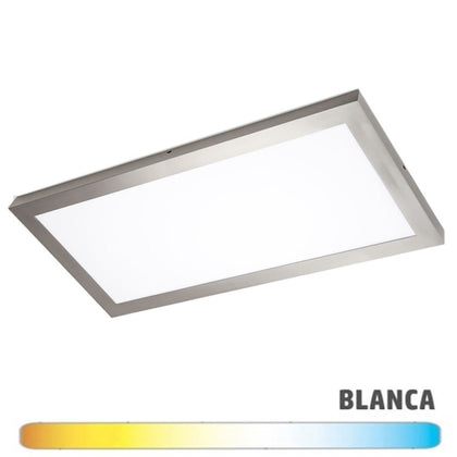 Luminaria Níquel Superficie LED 30x90 36W