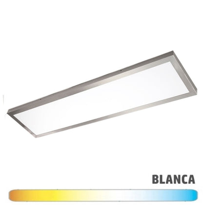 Luminaria Níquel Superficie LED 30x120 48W