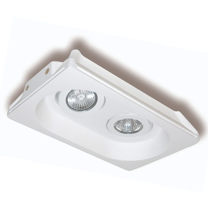 Empotrable Escayola Basculante 2 Luces GU10