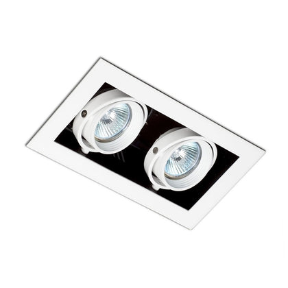 Empotrable Kardan Blanco Basculante 2 Luces 204x116mm