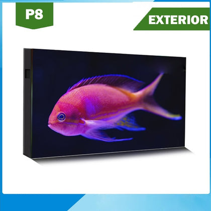 Pantalla LED P8 Exterior Full Color