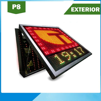 Banderola Doble Cara LED P8 Estancos Exterior