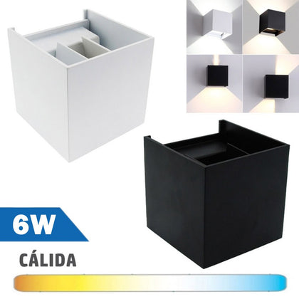 Aplique LED 6W COB Ajustable Luz Indirecta