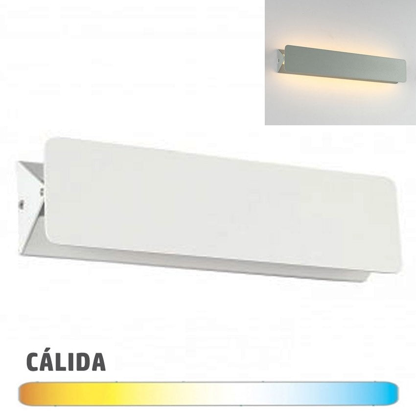 Aplique LED Pared 10W Blanco Antideslumbramiento