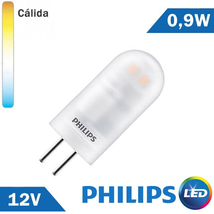 BOMBILLA LED G4 PHILIPS 0,9W 12V