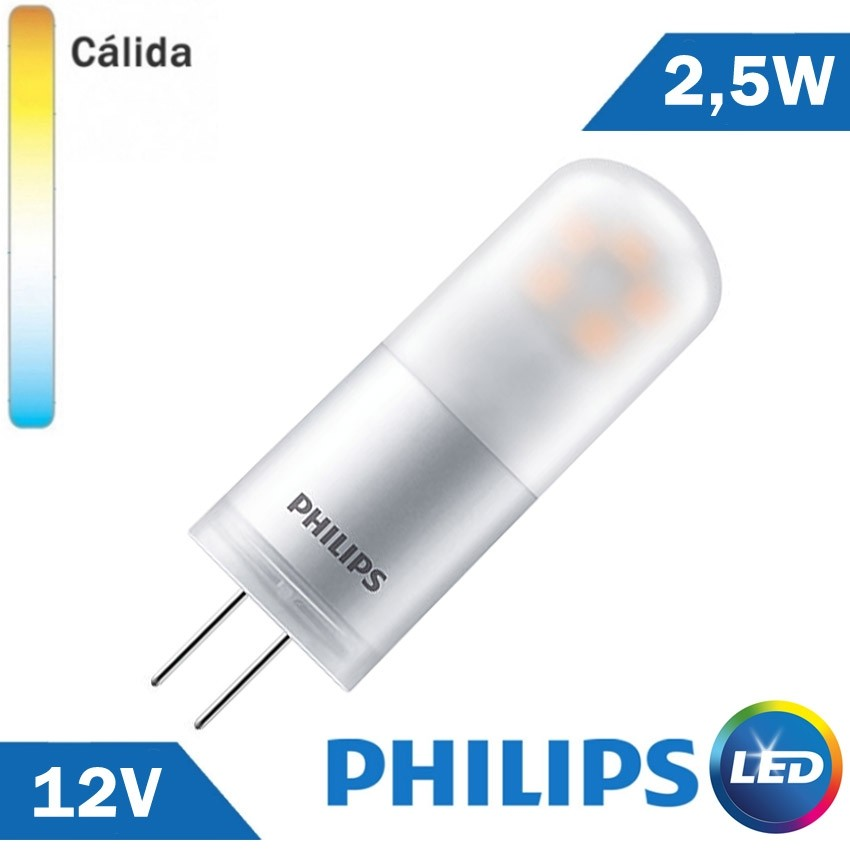 BOMBILLA LED G4 PHILIPS 2,5W 12V