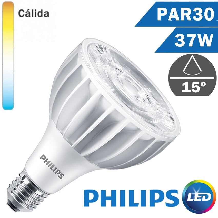 BOMBILLA LED E27 PHILIPS PAR30 L 37W 15º