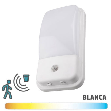 Aplique LED 20W IP65 Blanco con Sensor Movimiento