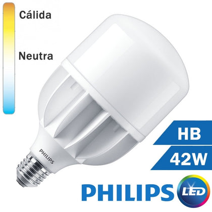 LÁMPARA LED HB 42W E27 230V TRUEFORCE