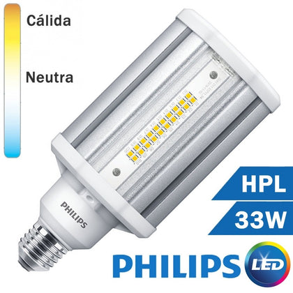 LÁMPARA LED HPL 33W E27 TRANSPARENTE  TRUEFORCE