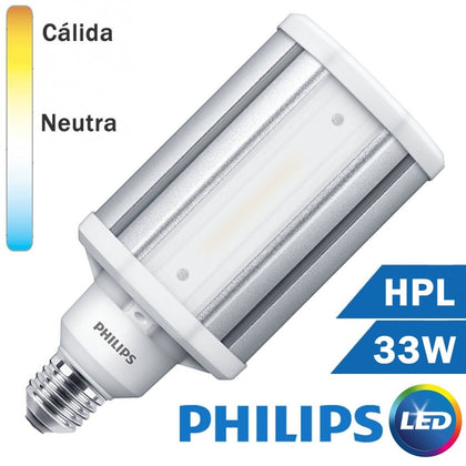 LÁMPARA LED HPL 33W E27 MATE TRUEFORCE