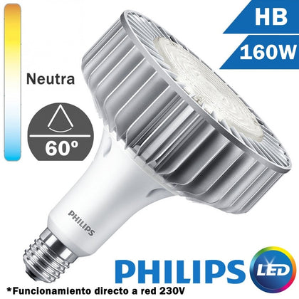 LÁMPARA LED HB 160W E40 60D 230V