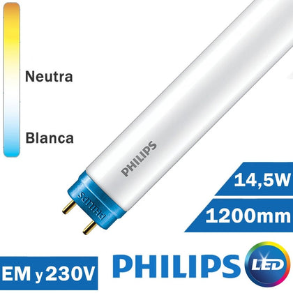 Tubo LED Philips 14,5W 1200mm T8 COREPRO