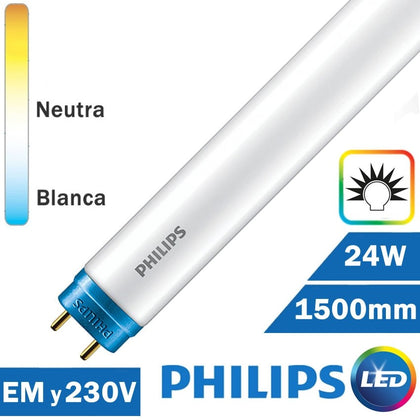 Tubo LED Philips 24W 1500mm T8 COREPRO AF