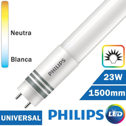Tubo LED Philips 23W 1500mm T8 Universal
