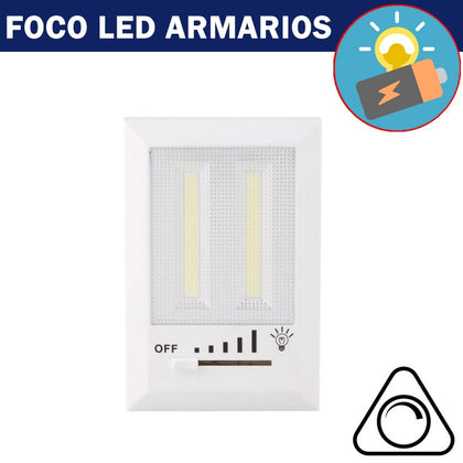 Foco LED COB 4W Regulable Pilas