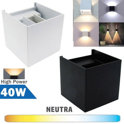 Aplique LED 40W COB Ajustable Alta Potencia