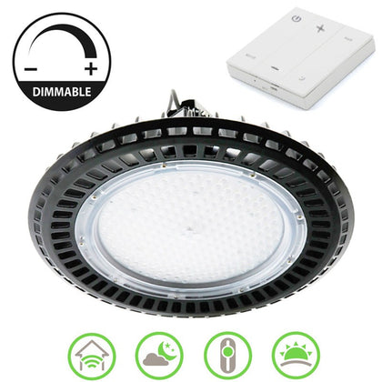 Campana LED UFO 160W Regulable APP Panel