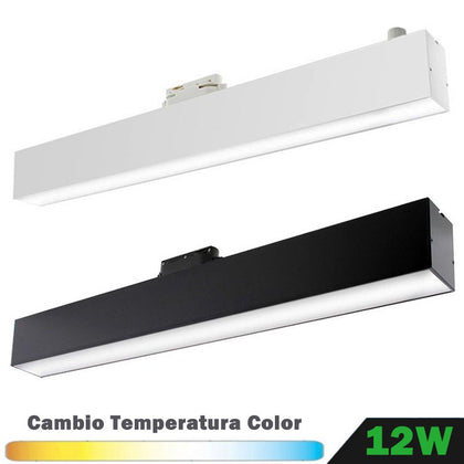 Foco LED 12W Monofásico Lineal CCT